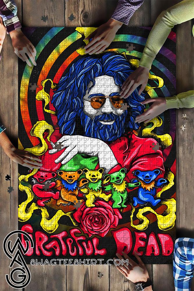 Jerry garcia grateful dead jigsaw puzzle - maria