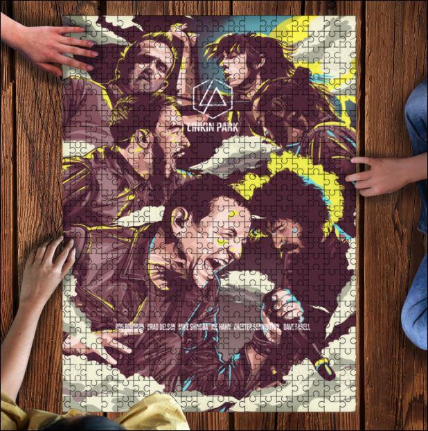 Linkin Park Jigsaw Puzzle