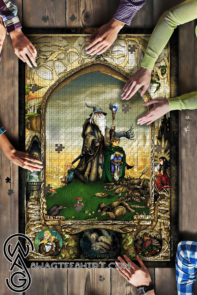 Lord of the rings jigsaw puzzle - maria