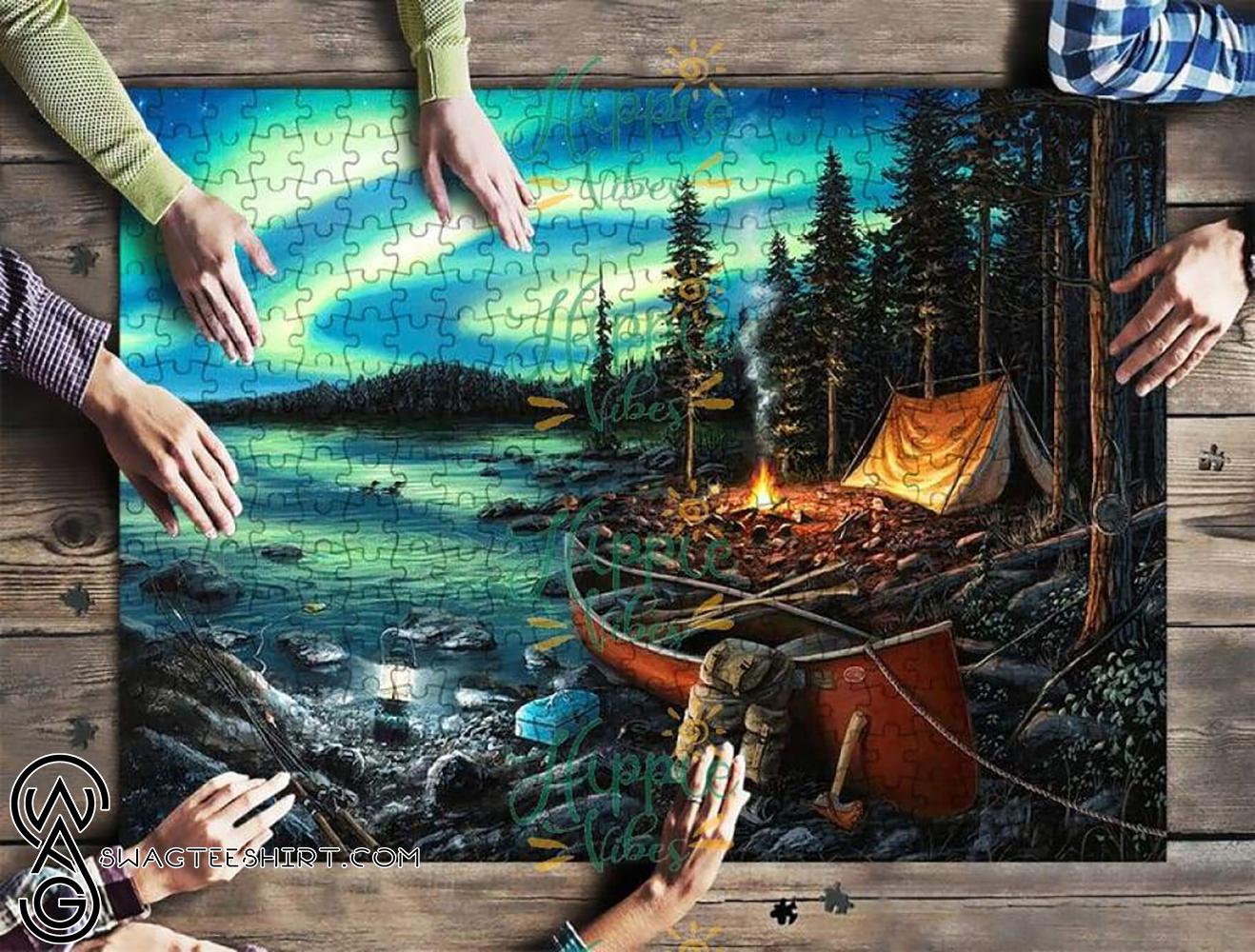 Love camping jigsaw puzzle - maria