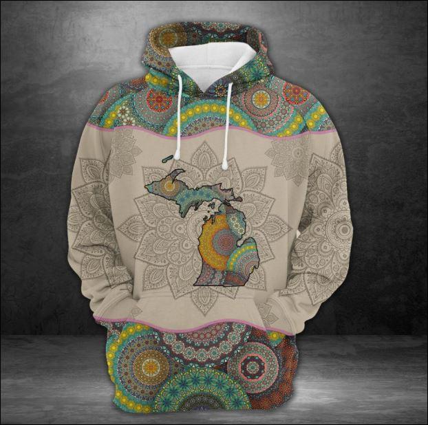 Michigan Mandala 3D hoodie