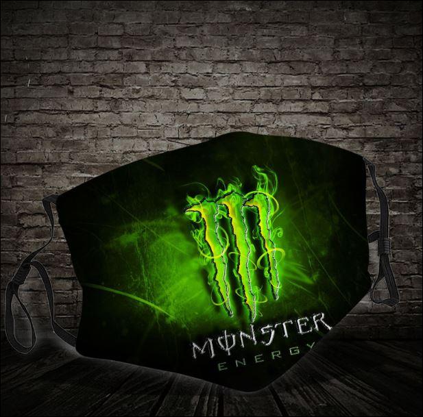 Monster energy face mask