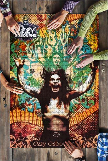Ozzy Osbourne Jigsaw Puzzle