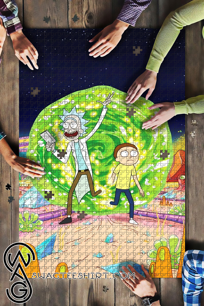 Rick and morty tv series jigsaw puzzle - maria