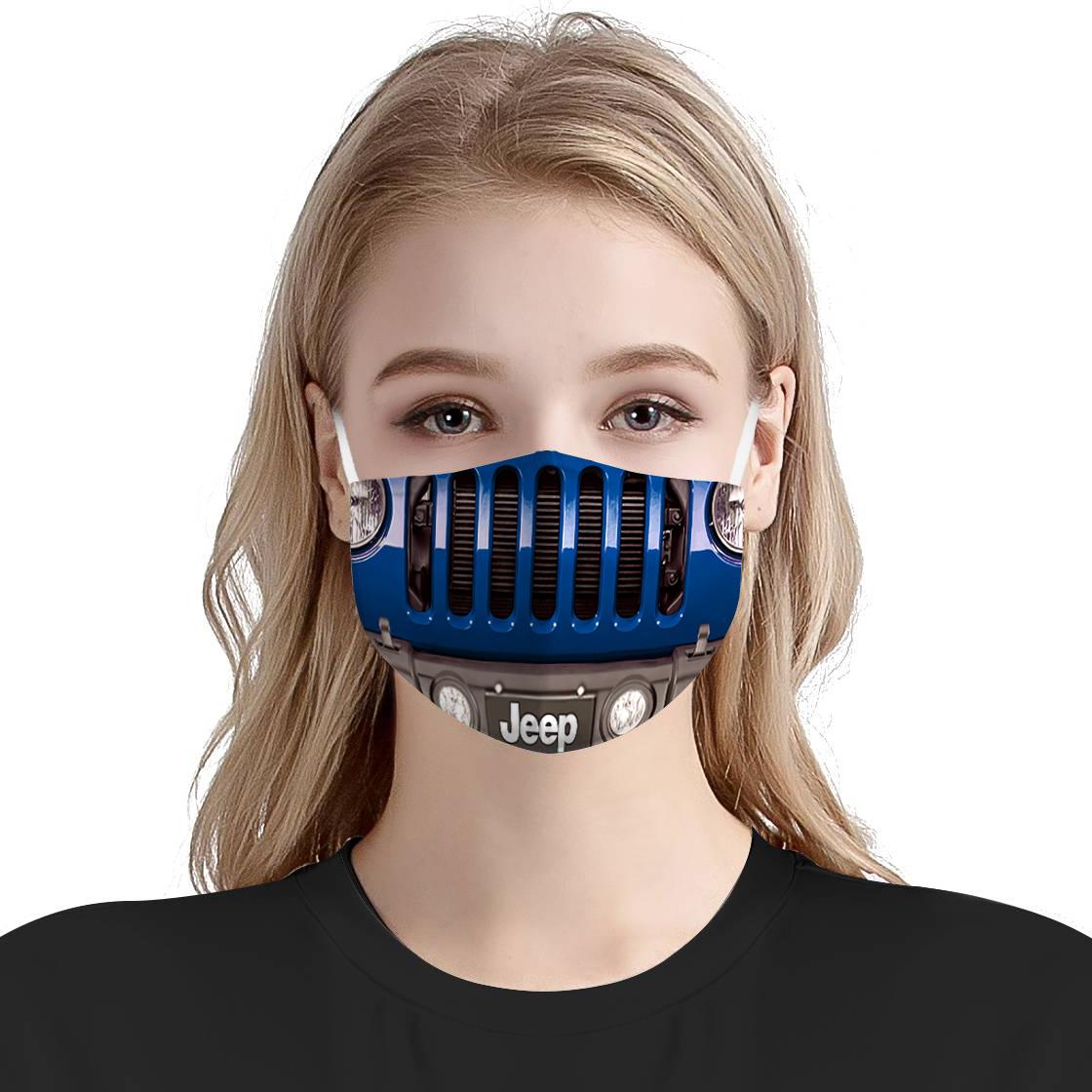 Jeep wrangler face mask