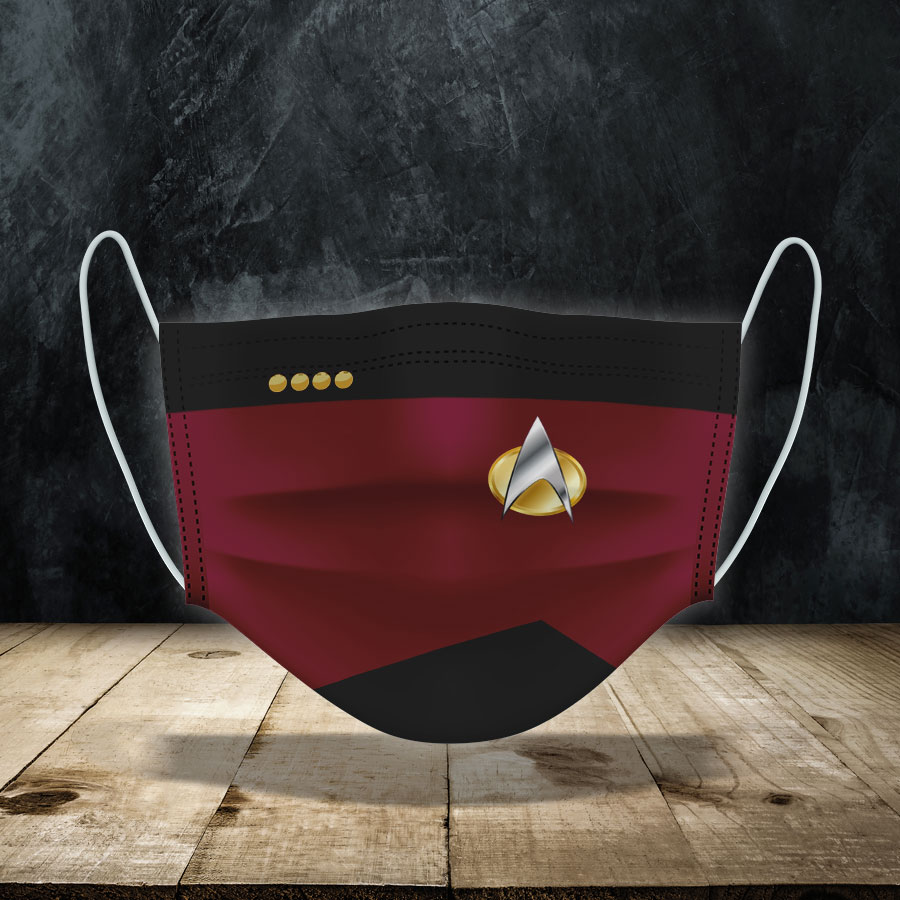 Star Trek Expendable Face Mask