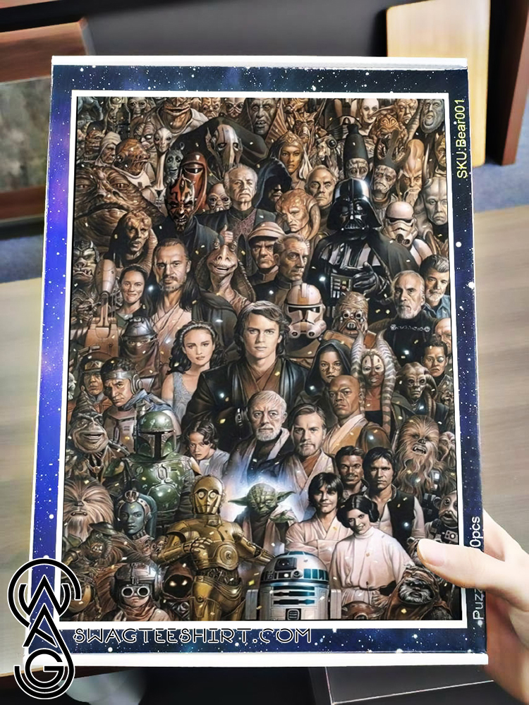 Star wars character jigsaw puzzle - maria