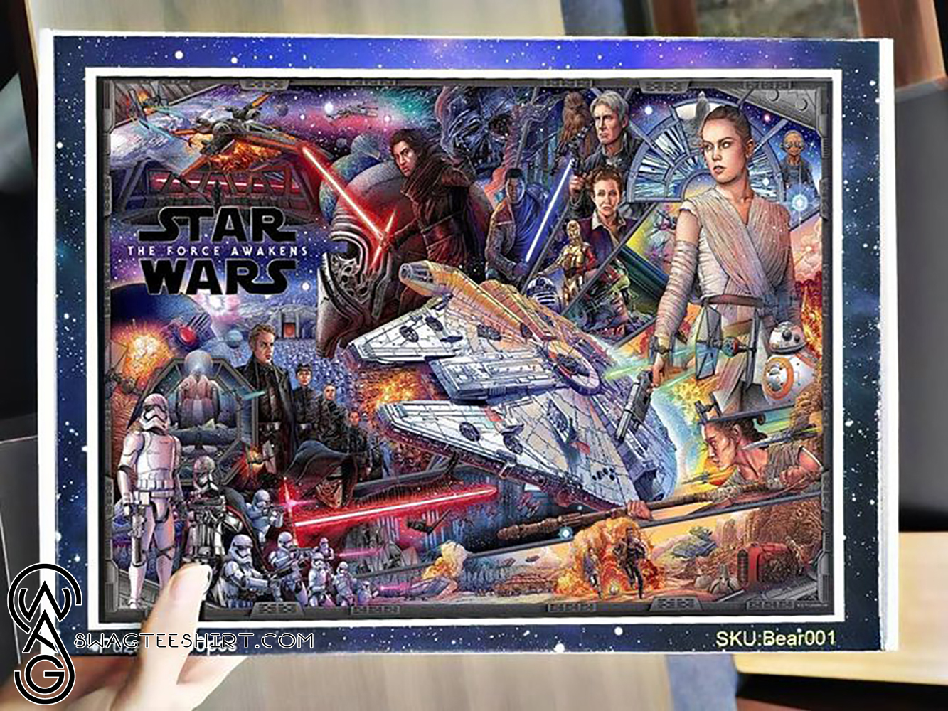 Star wars the force awakens jigsaw puzzle - maria