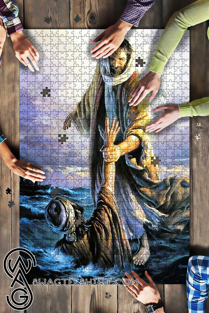 The hand of God jigsaw puzzle - maria