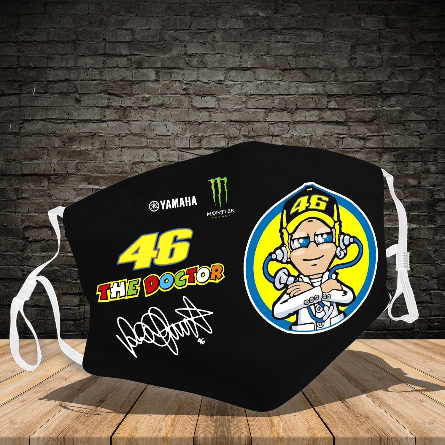 Valentino Rossi the doctor 46 face mask