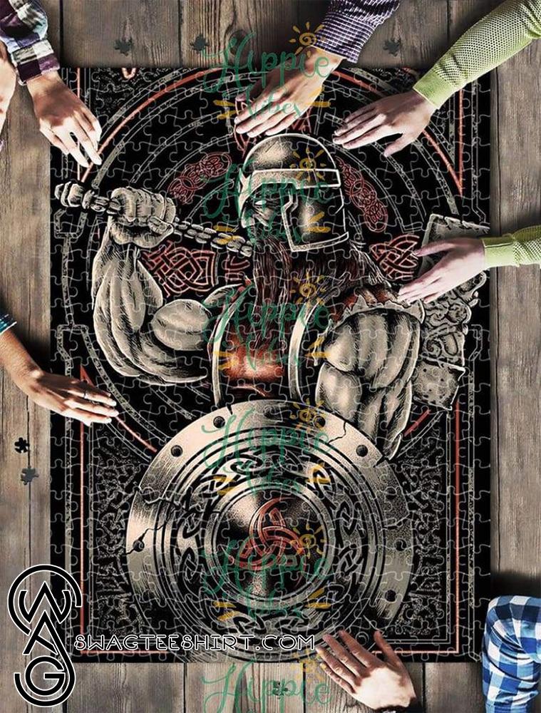 Viking warrior jigsaw puzzle - maria