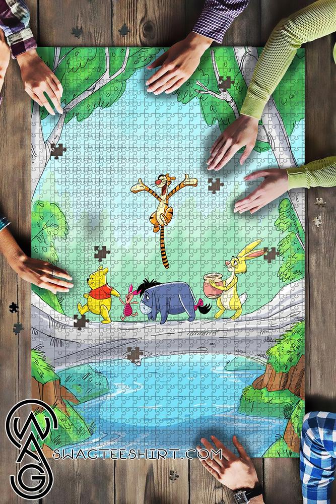 Winnie the pooh jigsaw puzzle - maria