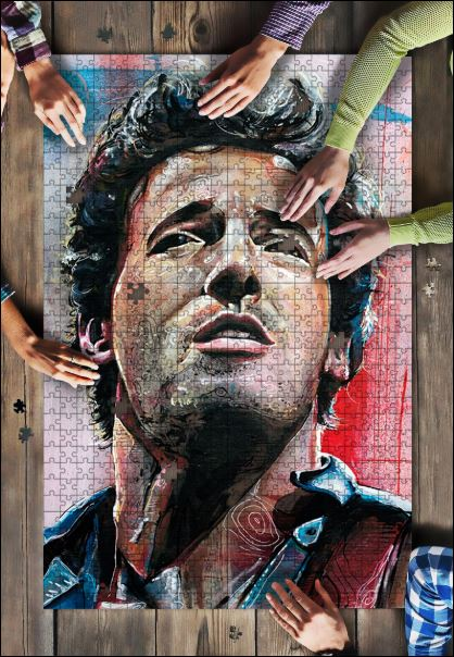 Bruce Springsteen jigsaw puzzle