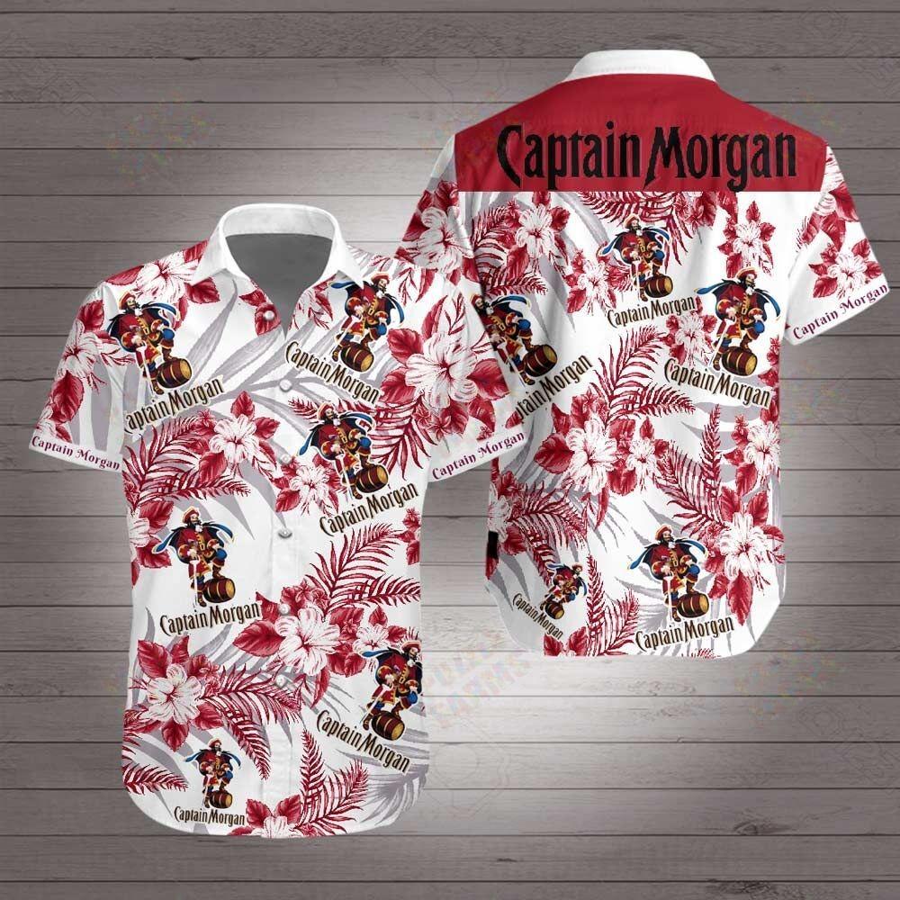 Captain morgan hawaiian 3d shirt