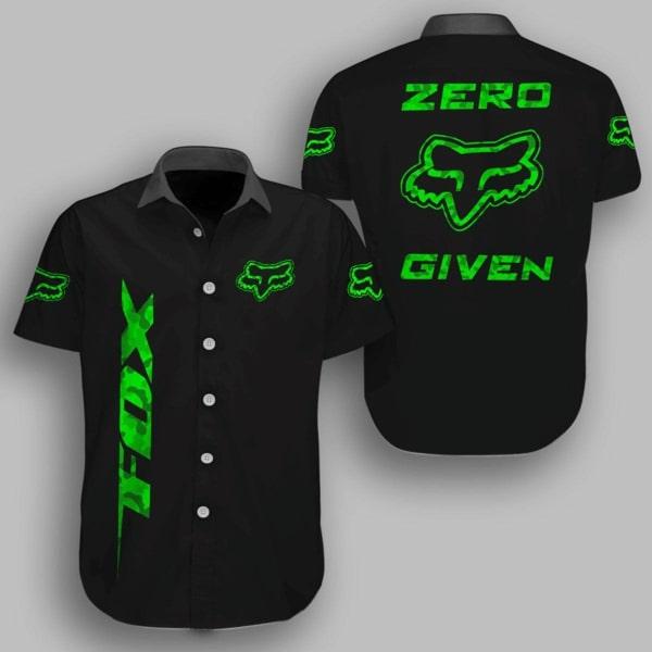 Fox racing metal zero given hawaiian shirt - maria
