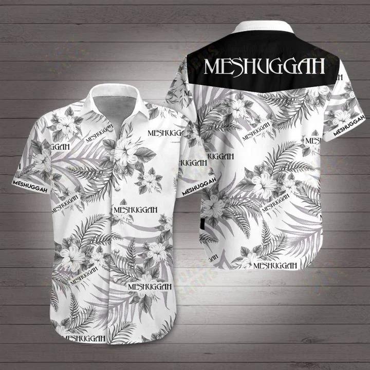 Meshuggah hawaiian 3d shirt