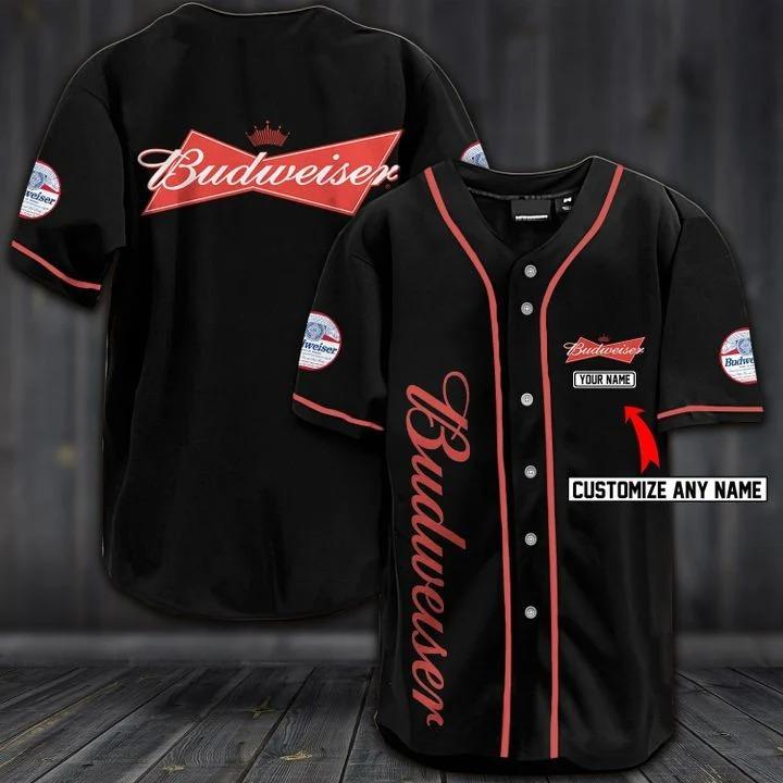 Personalize custom name budweiser hawaiian 3d shirt