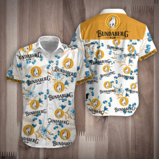 Rum Bundaberg hawauuan shirt