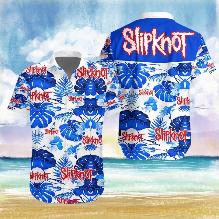 Slipknot hawaiian 3d shirt