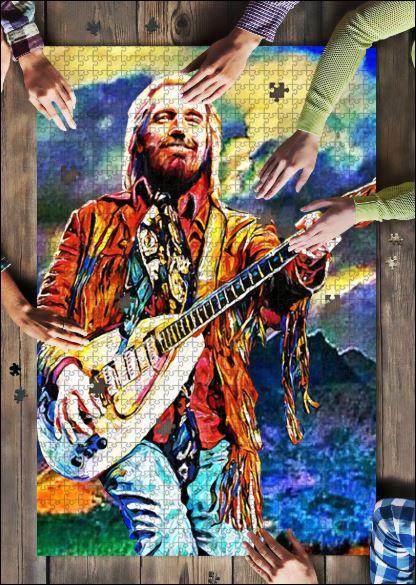 Tom Petty jigsaw puzzle