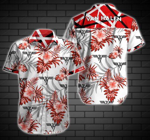 Van halen hawaiian shirt