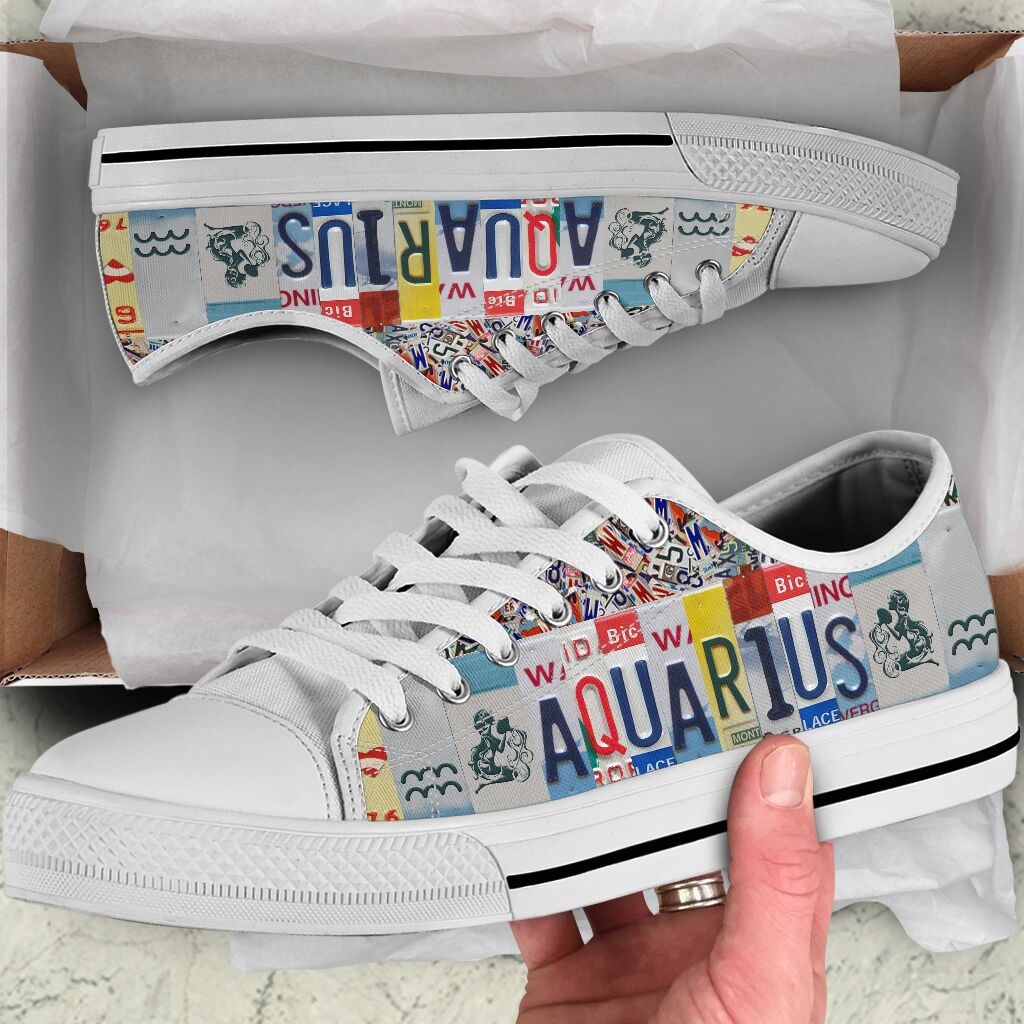Aquarius low top shoes.