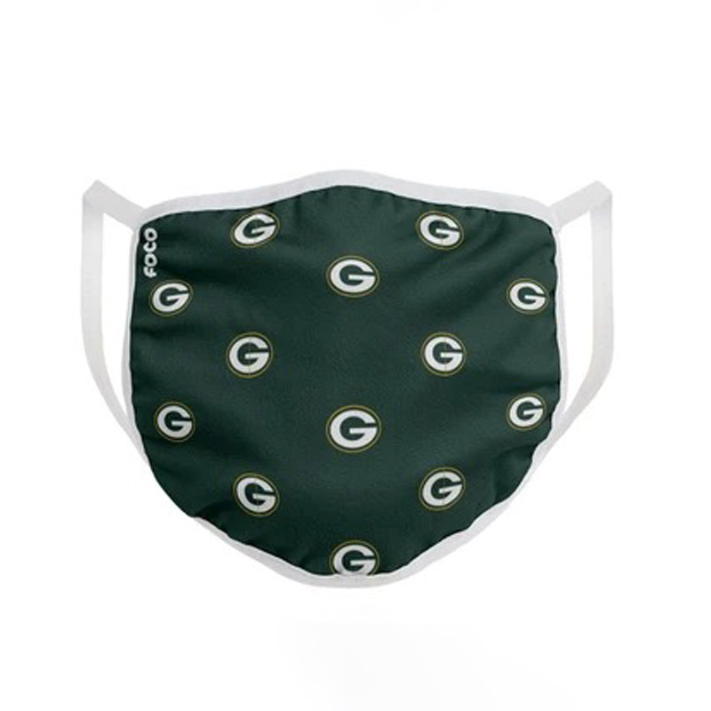 Green bay packers nfl cloth mask
