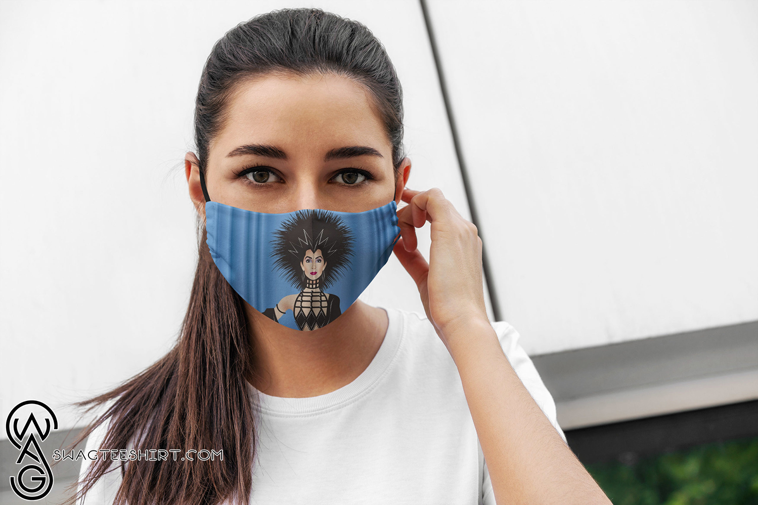 [special edition] Cherilyn sarkisian cher all over printed face mask - maria