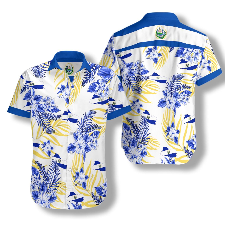 El Salvador hawaiian shirt