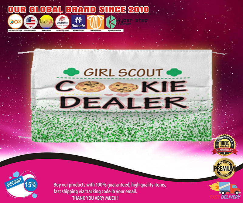 Girl scout cookie dealer face mask1