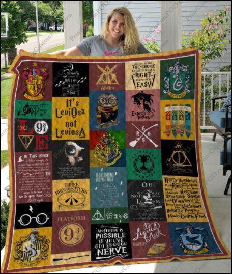 Harry Potter 3D quilt