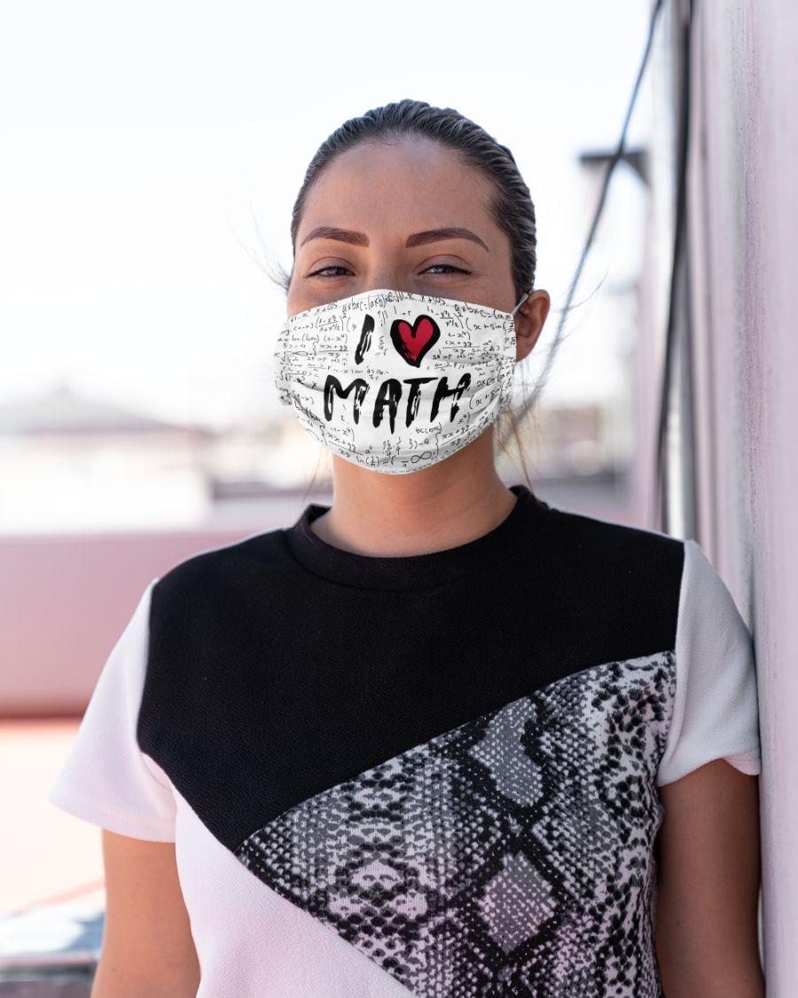 I love Math face mask - BBS