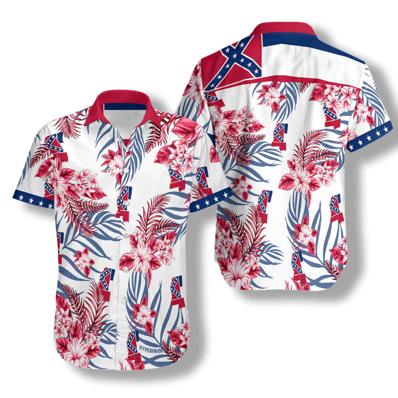 Mississippi proud hawaiian shirt