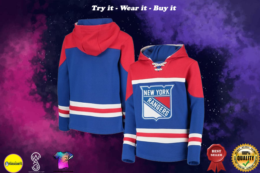 [special edition] NHL new york rangers all over printed shirt - maria