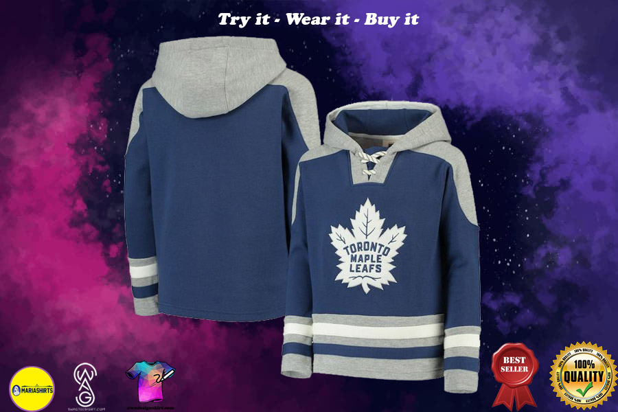 [special edition] NHL toronto maple leafs all over printed shirt - maria