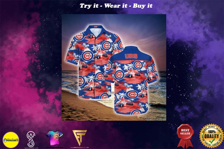 [special edition] chicago cubs full printing hawaiian shirt - Maria