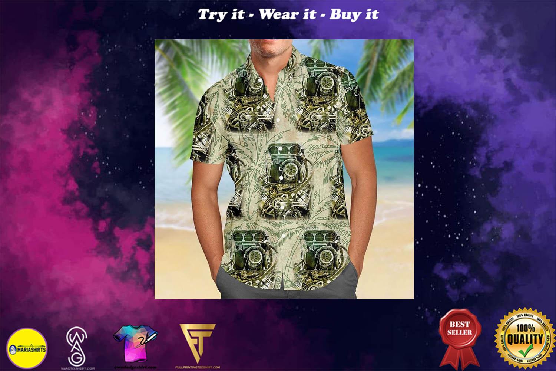 [special edition] drag racing aloha tropical full printing hawaiian shirt - Maria