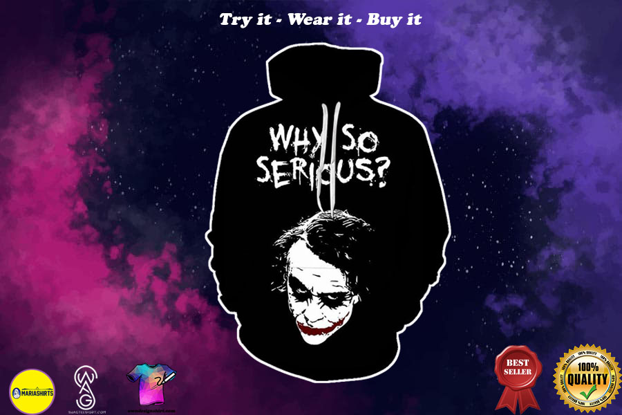 [special edition] halloween joker why so serious all over printed shirt - maria