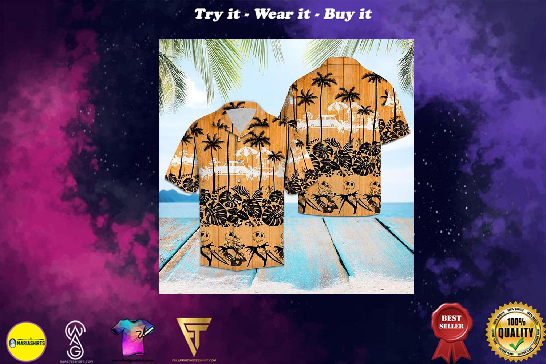 [special edition] jack skellington aloha tropical full printing hawaiian shirt - Maria