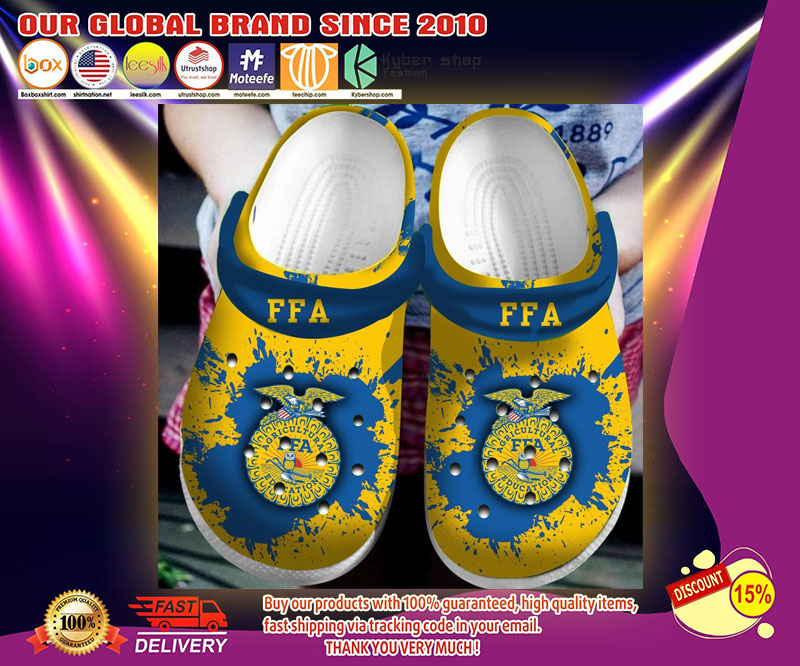 Agricultural education FFA crocband crocs shoes - LIMITED EDITION
