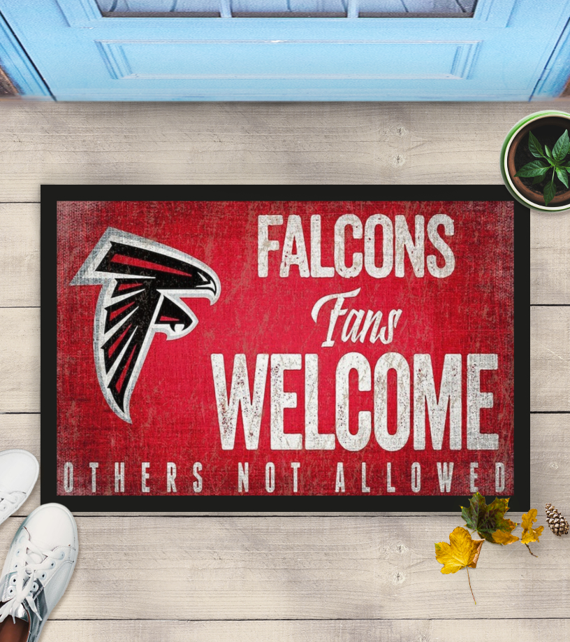 Atlanta Falcons fans welcome others not allowed