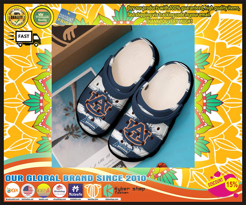 Auburn Tigers croc shoes - LIMITED EDITION