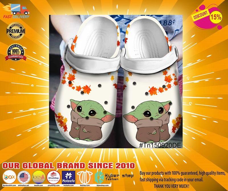 Baby yoda crocband crocs shoes - LIMITED EDITION