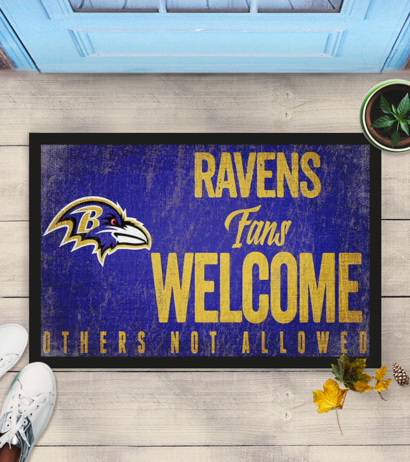 Baltimore Ravens fans welcome others not allowed