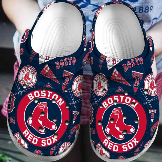 Boston red sox croc shoes - LIMITED EDITION