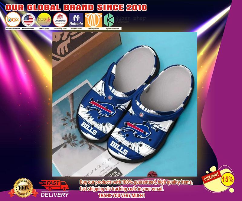 Buffalo Bills crocs shoes - LIMITED EDITION