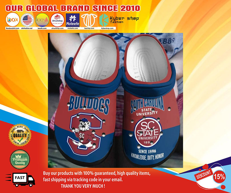 Bulldog south carolina state university crocs shoes1Bulldog south carolina state university crocs shoes1
