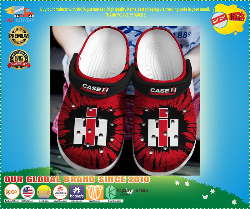 Case IH crocband crocband crocs shoes - LIMITED EDITION
