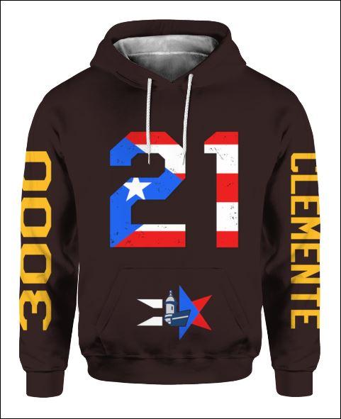 Celebrando el Mes de la Herencia Hispana PR 21 3D all over printed hoodie