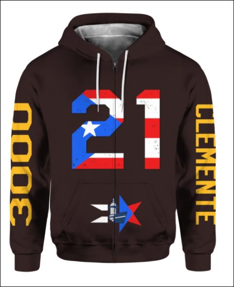 Celebrando el Mes de la Herencia Hispana PR 21 3D all over printed zip hoodie